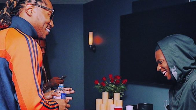Wizkid hangs out with Future in London (Video)