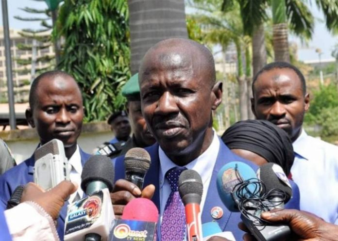 EFCC has recouped N527 billion, €46.74 million, €140.47 via whistle blowing tactics – Ibrahim Magu
