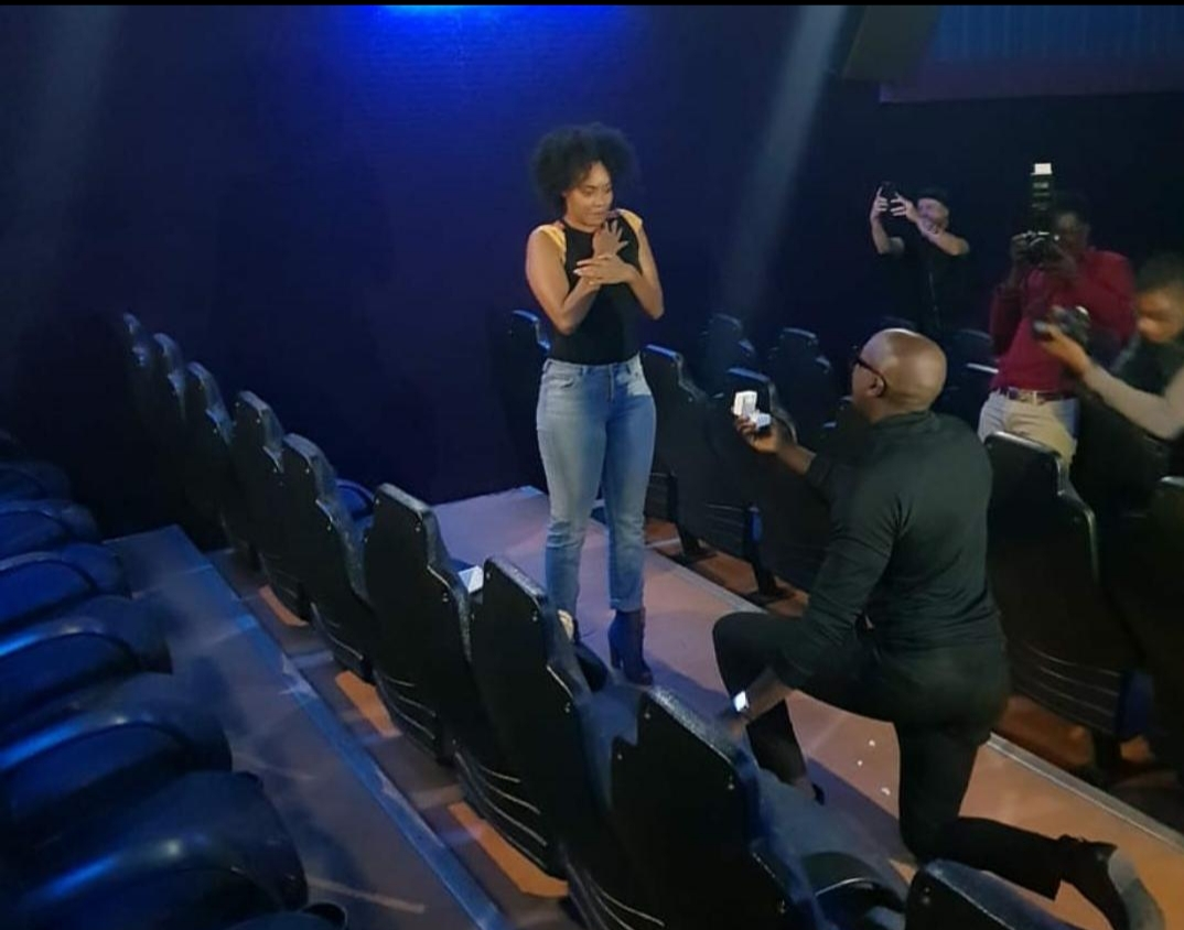 Sauti Sol Vocalist Proposes To His Longtime Girlfriend In Kenya