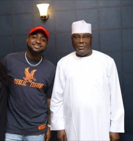 Davido Is The King Of Nigerian Music – Atiku