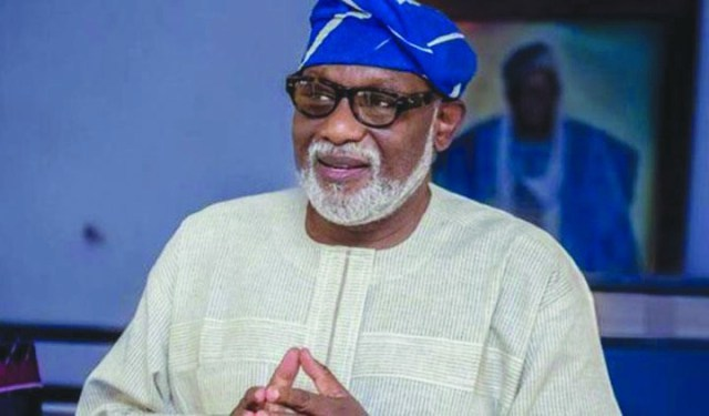 Rotimi Akeredolu Describes Mimiko As A Selfish And Overambitious Politician