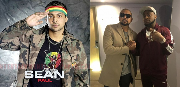 'I'm Proud Of You' Sean Paul Gushes About Davido