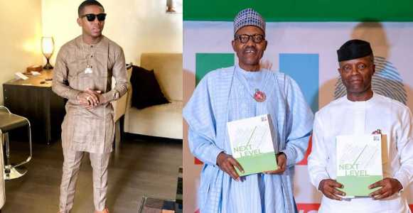 Singer Small Doctor Endorses Buhari-Osinbajo Re-election