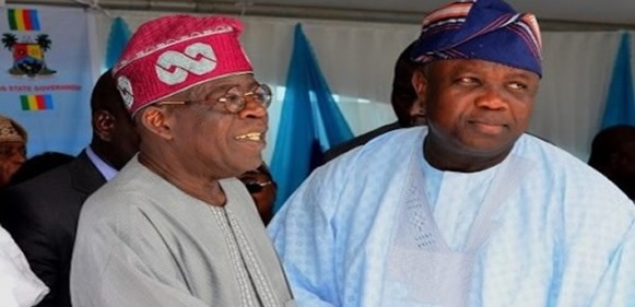 See What Ambode Said About The National Leader Of APC, Tinubu