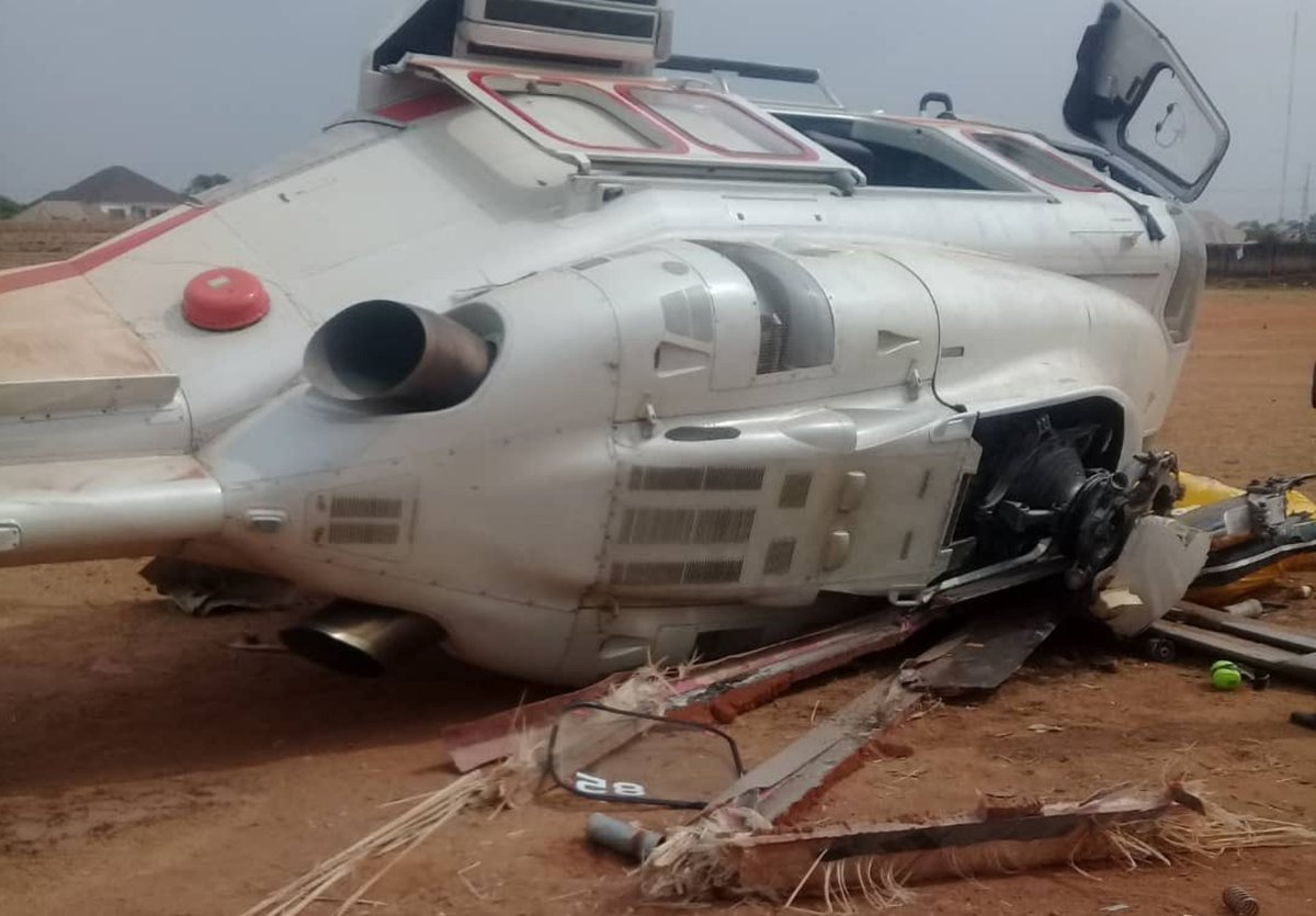 Why Helicopter carrying Vice President Yemi Osinbajo crashed – Caverton Helicopters