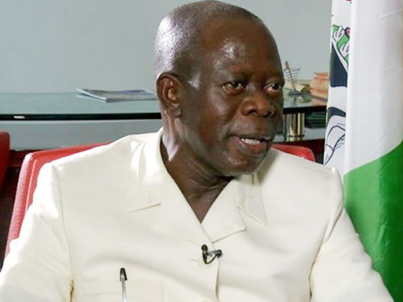 Oshiomhole Denies Supporting Amaechi's Endorsement Of AAC Governorship Candidate
