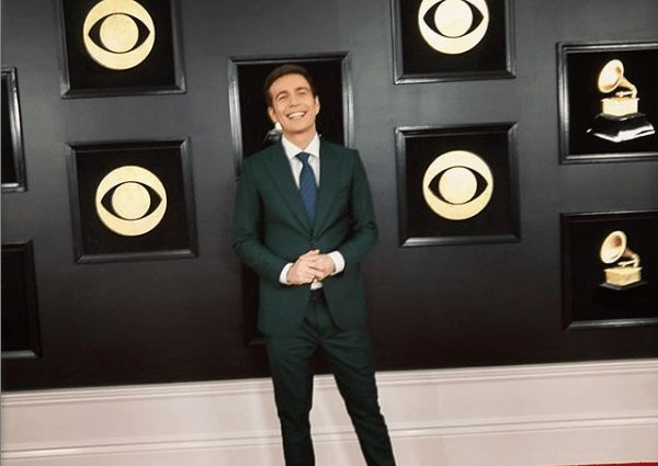Nigerian Fashion Designer Style Tim Kubart's Cloth For Grammy Red Carpet
