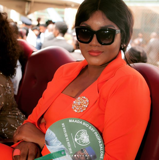 Presidency Reacts To Omotola's Statement About The State Of Nigerians Under President Buhari