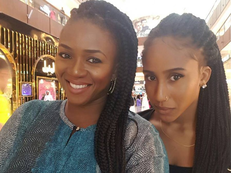 Waje Celebrates Her Daughter Has She Turns 20 Years Old