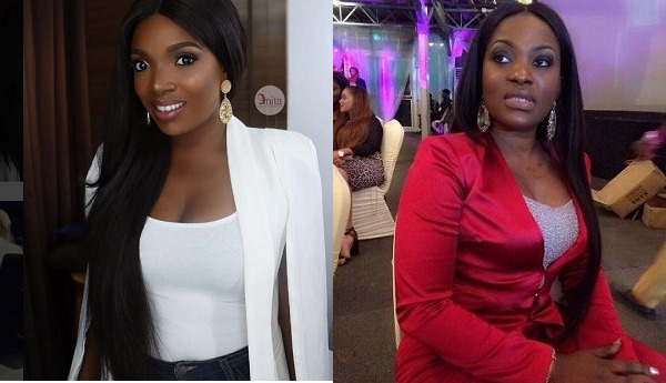 Annie Idibia And Pero Adeniyi Allegedly Shading Each Other