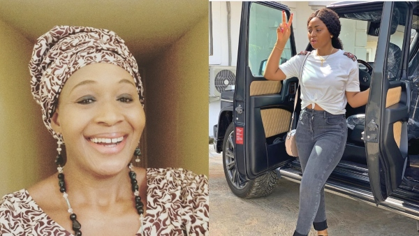 Kemi Olunloyo Mocks Regina Daniels, Says Car Is Not An Investment