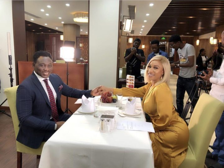 Tonto Dikeh And Amokachi Spotted At Date, Stir Reactions From Nigerians