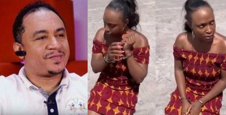 Despite lying, Daddy Freeze throws weight behind Blessing Okoro