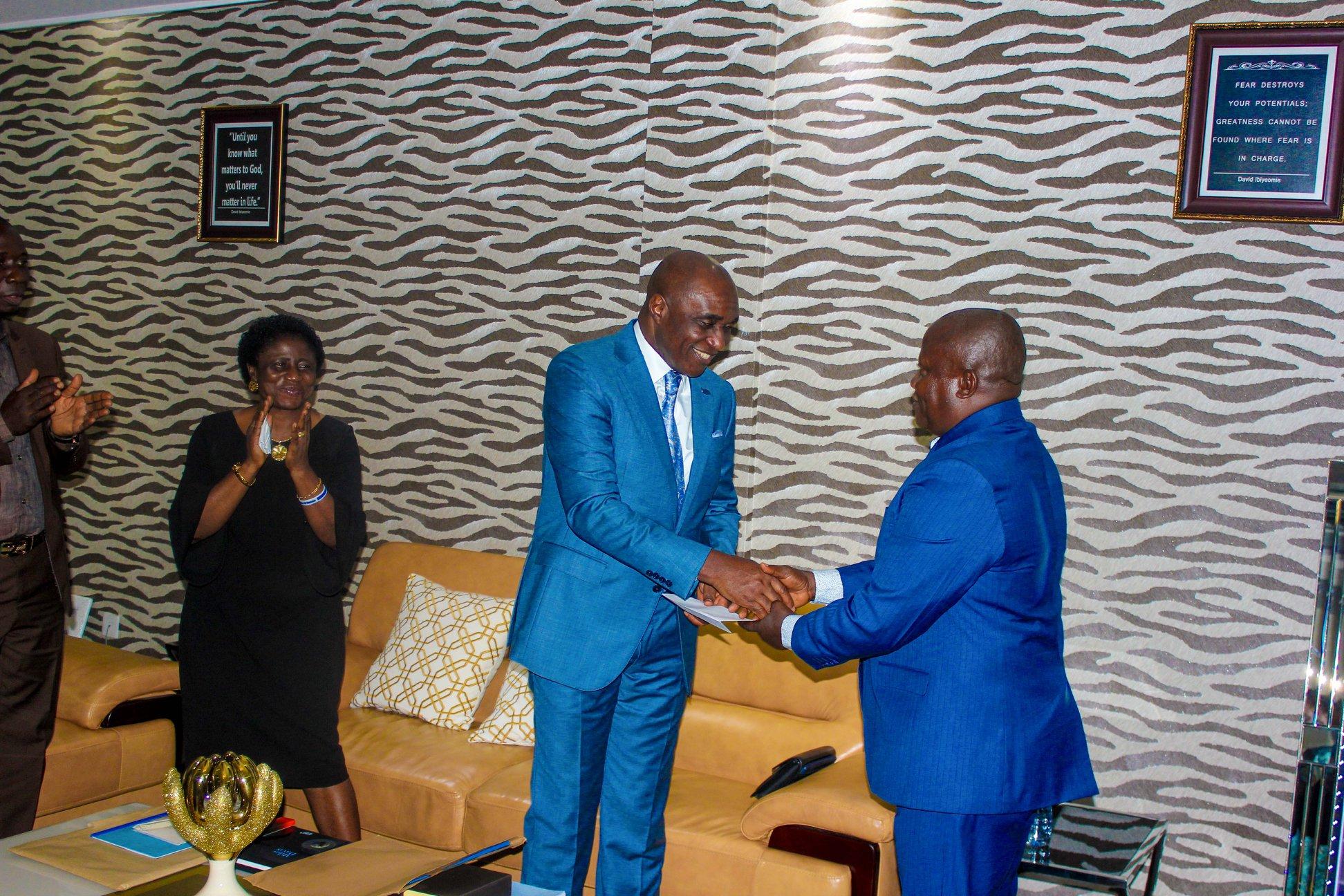 David Ibiyeomie Commences The Building Of Modern Hostel Complex For Ignatius Ajuru University