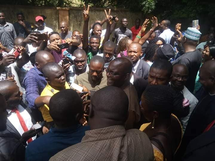 Jime Assures Supporters, Pensioners and Civil Servants of an end to sufferings