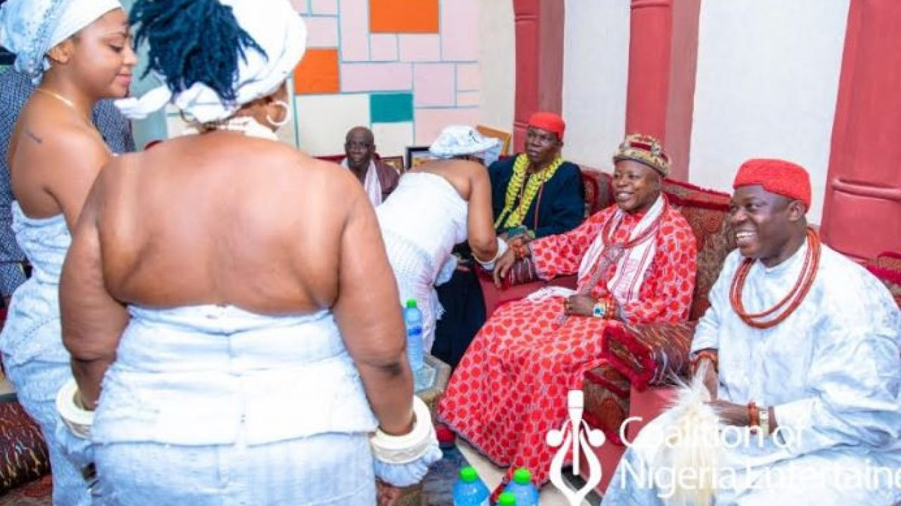 What You Need to About Regina Daniel's Anioma Marriage Induction Ritual & The Implication