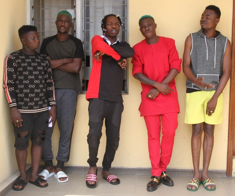 CONFIRMED: Naira Marley, Zlantan, Others In EFCC Custody