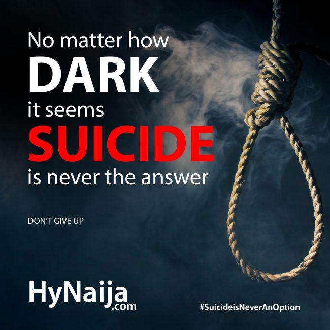 hynaija anti suicide campaign