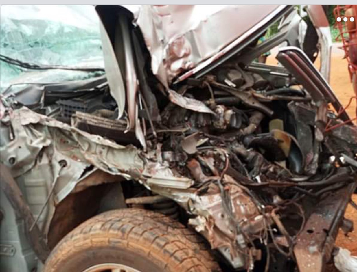 Lagos Information Commissioner Involves In Accident