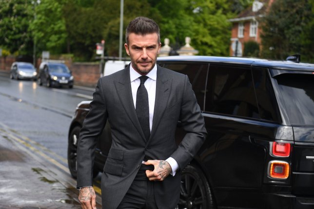 Beckham Banned From Driving
