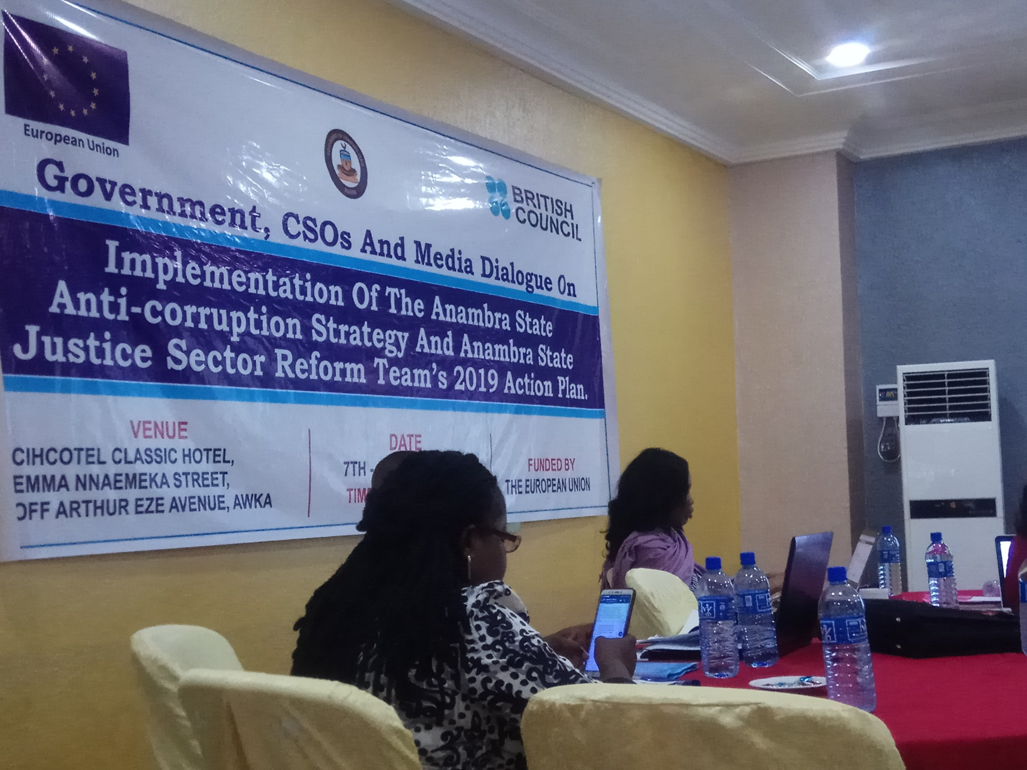 Government, CSOs, Media Dialogue on Anti-corruption Strategy