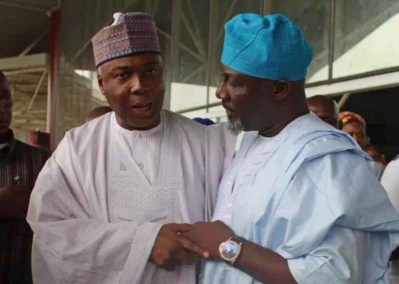 Saraki Sends His Condolence To Dino Melaye Over The Death Of His Mother