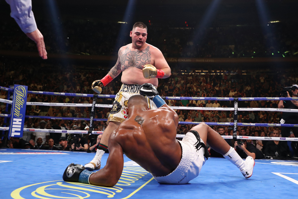 Unbelievable! Anthony Joshua defeated by Andy Ruiz