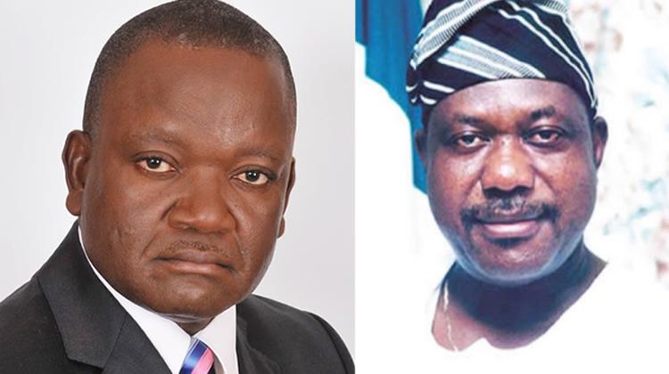Sen. Akume and Gov. Ortom: Posers for Nathaniel Ikyur