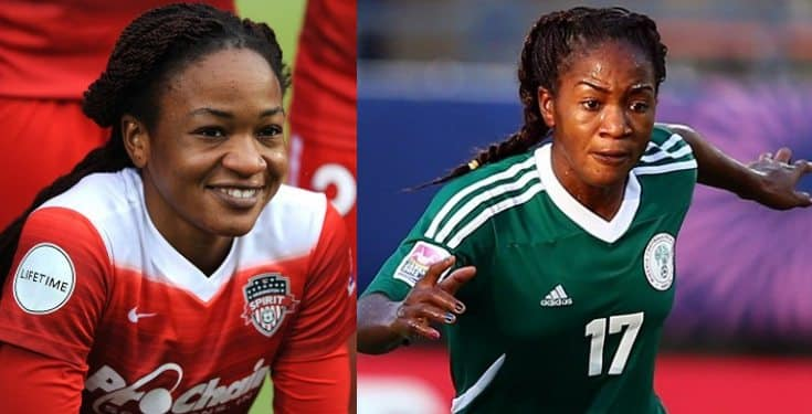 Super Falcons' player speaks on slapping ex-boyfriend for looking at another lady