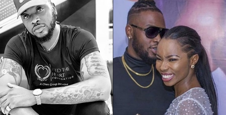 How ex-BBNaija housemate, Bam Bam celebrates Teddy A's birthday