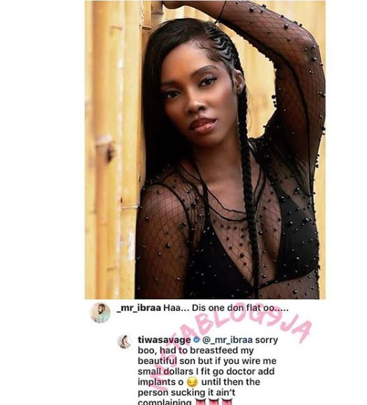Hilarious! See what Tiwa Savage said about her boobs