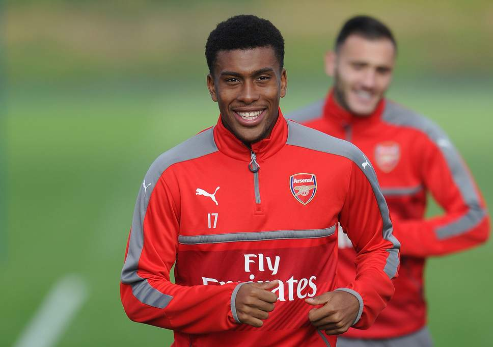 Okocha my uncle has got the skills but nutmeg, I'll say this is my own ownership – Alex Iwobi