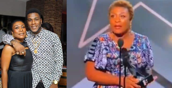 What Burna Boy's Mother Said After Son Bagged BET Awards