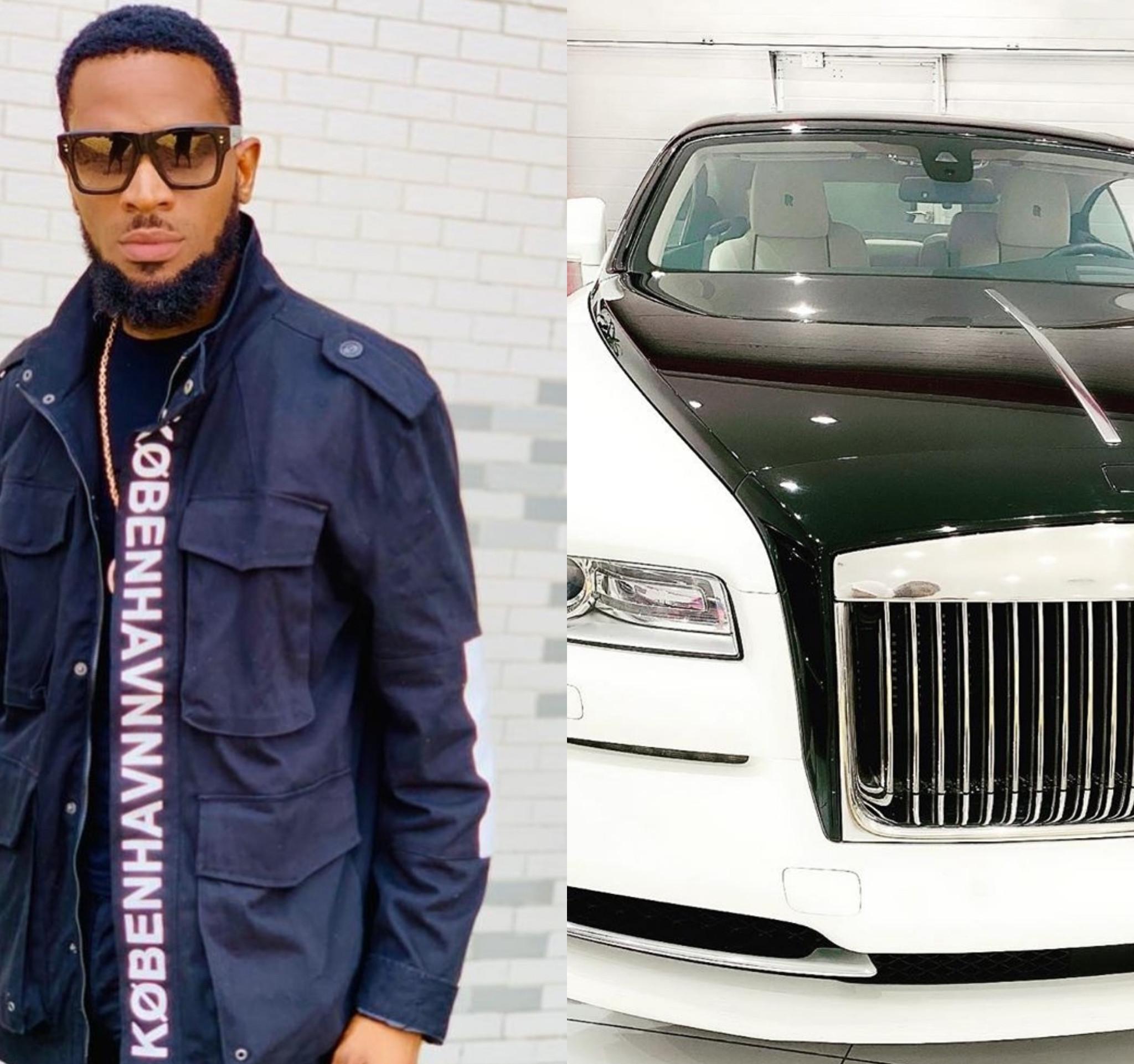 D'banj Celebrates Birthday With New Rolls Royce
