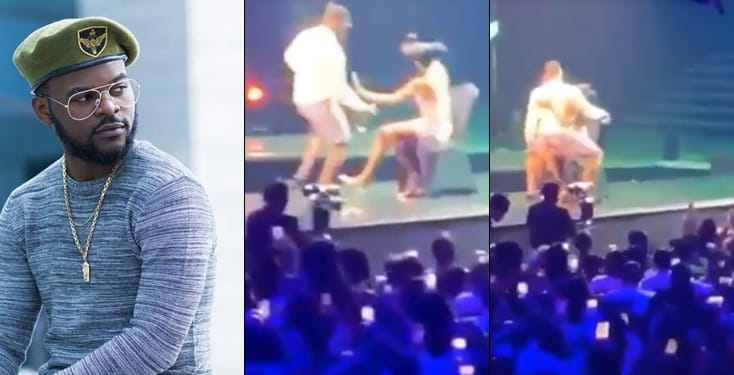 Unexpected! See what Falz did to lady at his concert