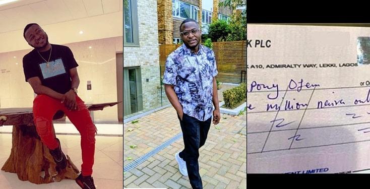 MC Galaxy gifts friend N3 million to show appreciation
