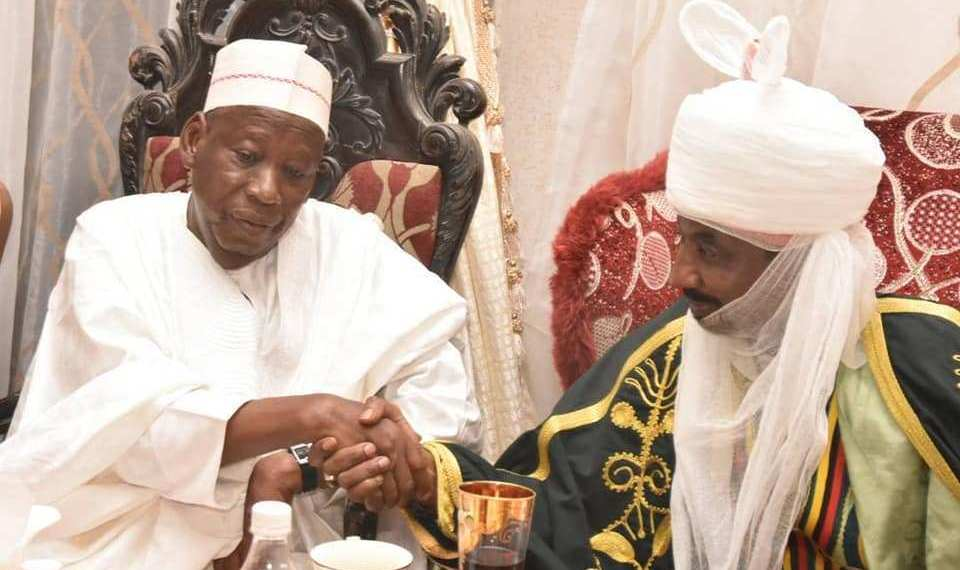 EXCLUSIVE: Has Governor Ganduje Reconciled With Emir Sanusi After President Buhari's Mediation?