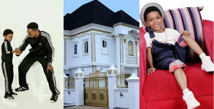 PHOTO: AMAZING! See what I Go Die Presents To Son For Birthday