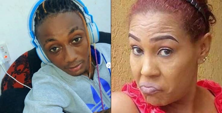 Ned Nwoko's son accuses Shan George of asking for his father's phone number