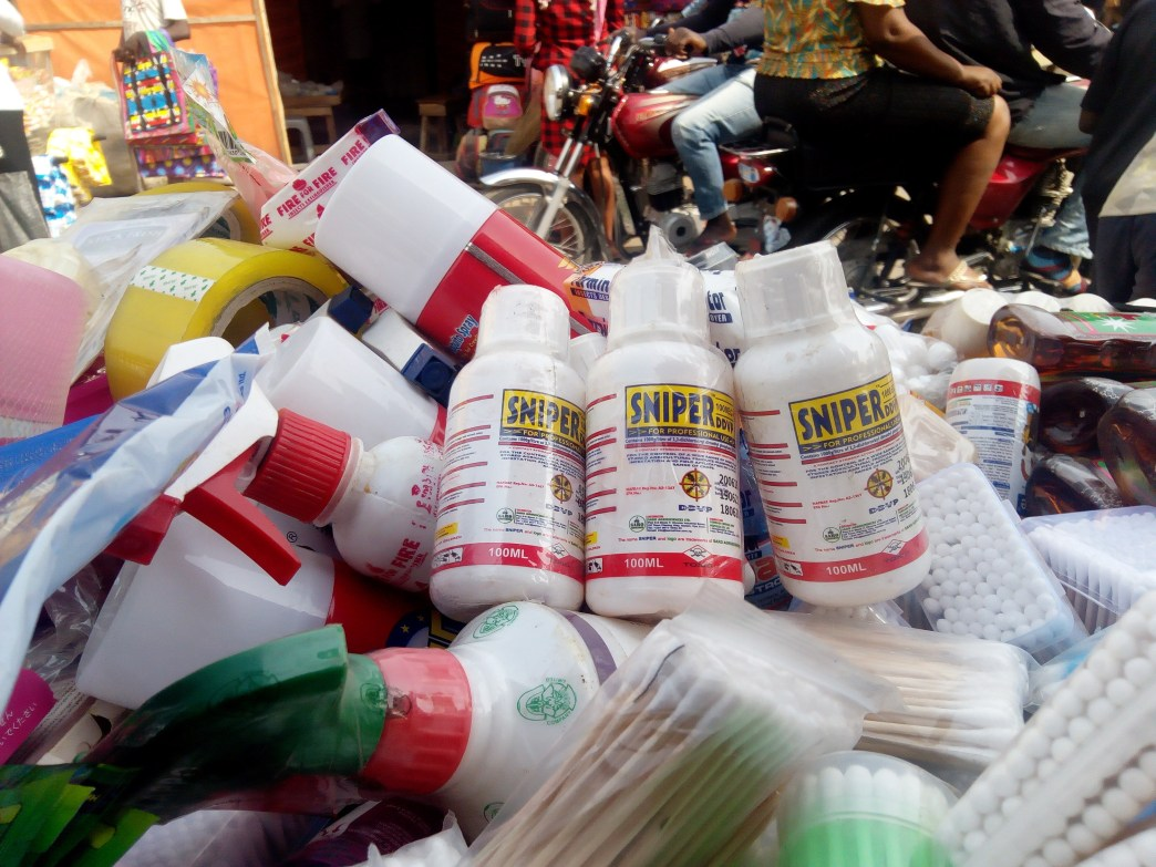 Suicide: Sniper banned in open markets by NAFDAC